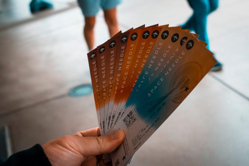 Tickets verkopen voor attracties, feesten, beurs of workshop